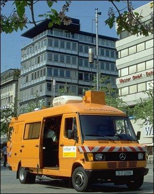 Luftmesswagen Stuttgart