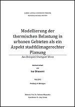 Stadtklima Stuttgart Bachelorarbeit Isa Ghasemi 2012